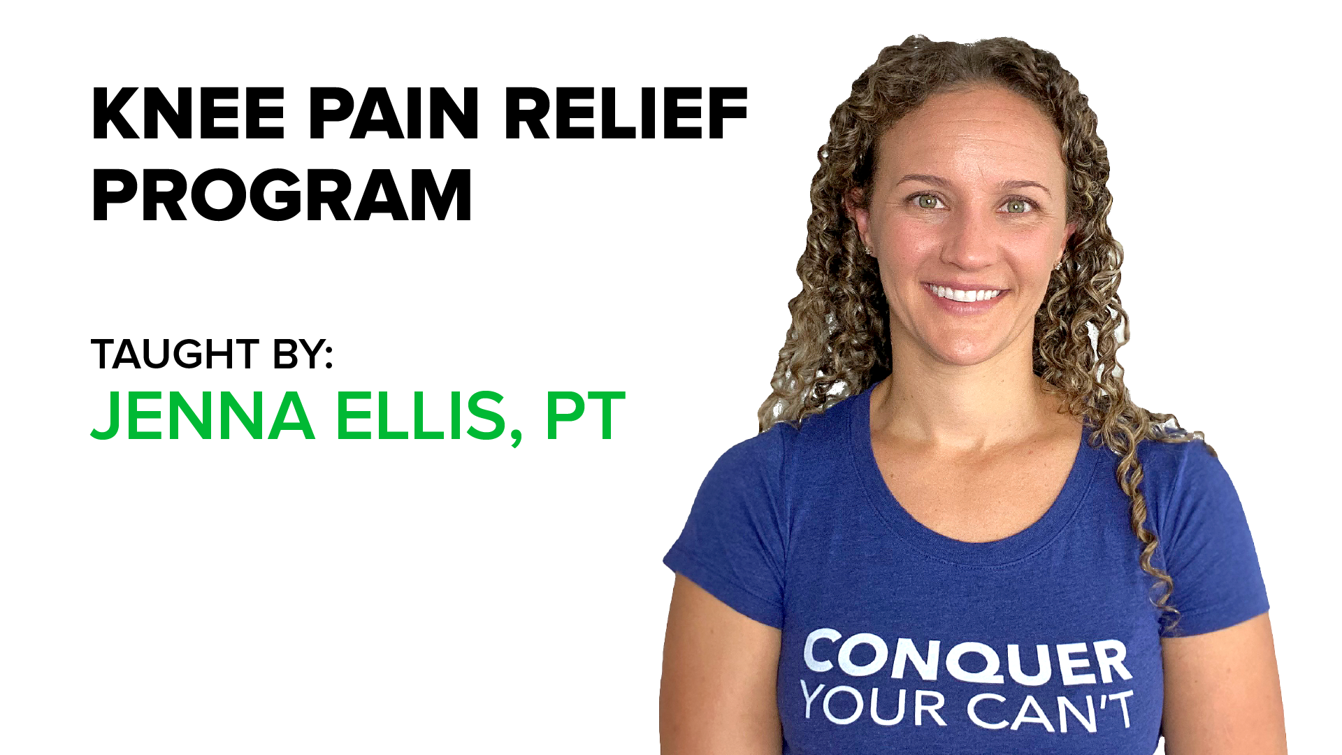 Primal 7 Knee Pain Program, Jenna Ellis