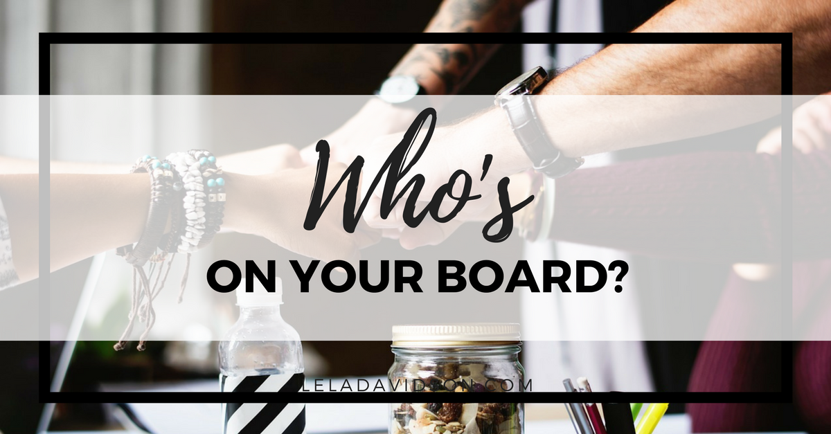 Every Great Business Needs a Board