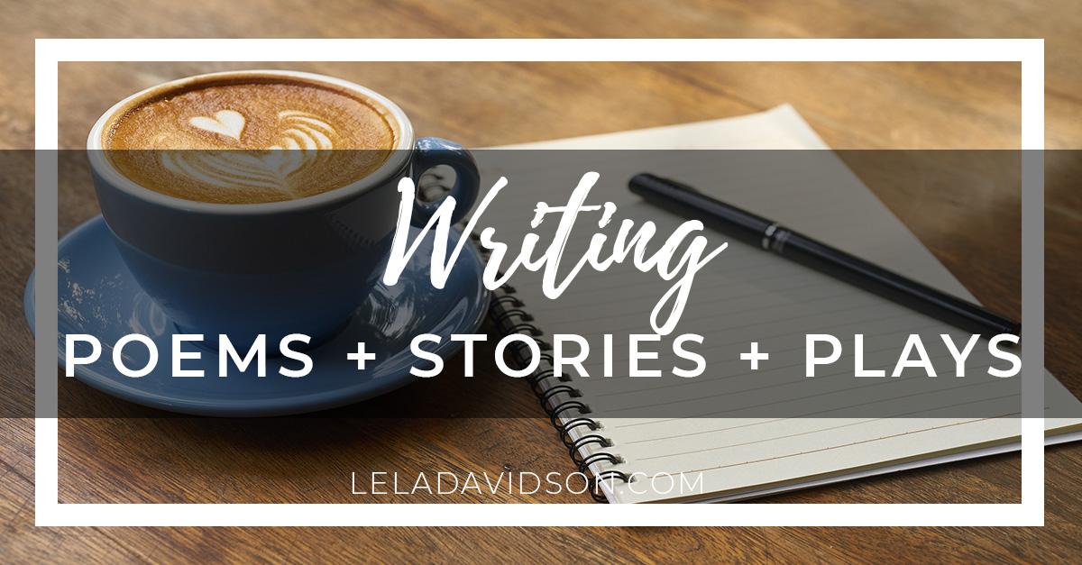 Who gets to be a writer, Lela Davidson
