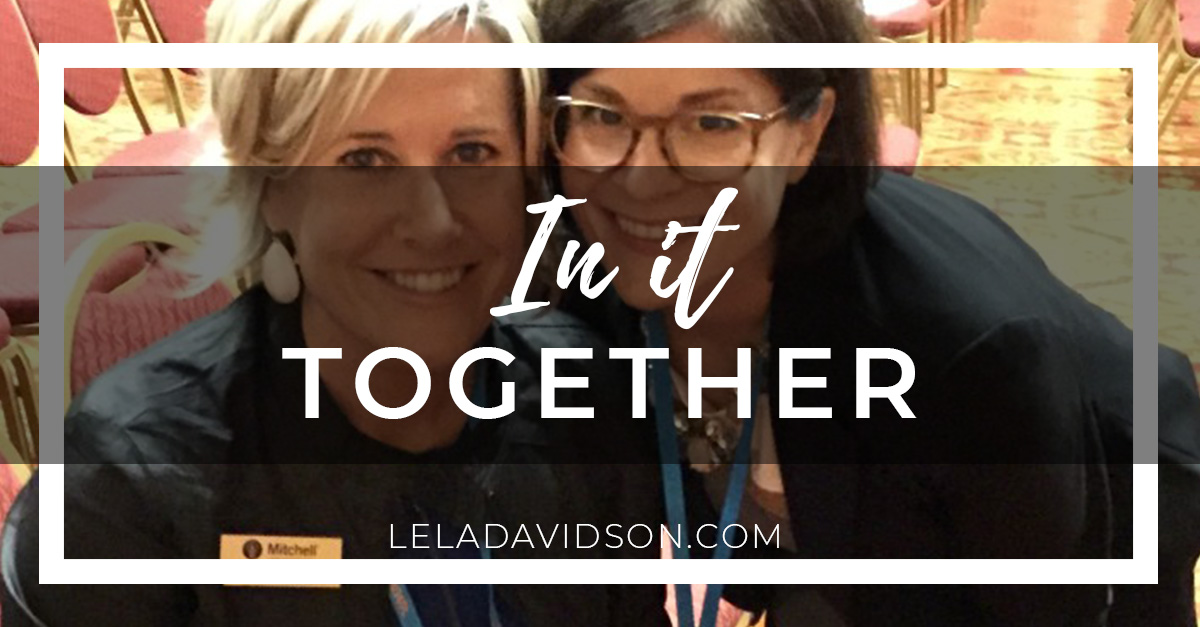 In celebration of awkward, Lela Davidson