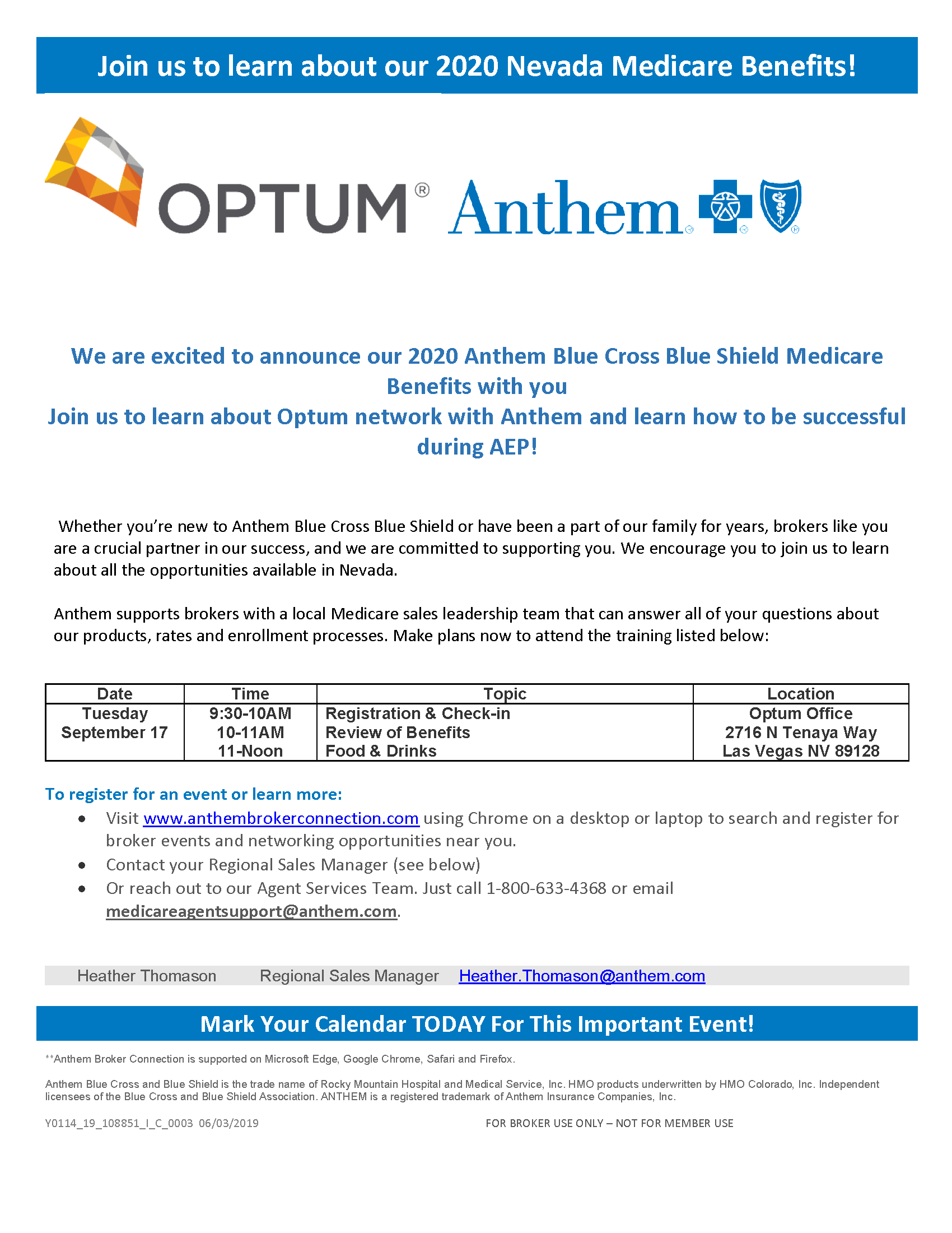 Medicare Product Training Meeting Invitation BCBS Optum 9-17-19.png