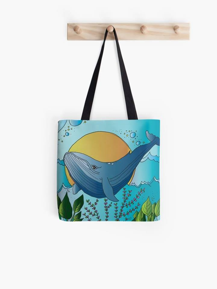 We Whale Always Love You tote bag