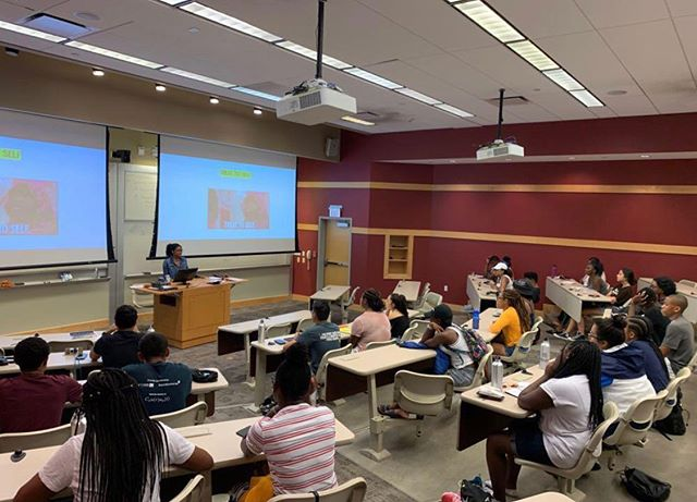 At our #cornelluniversity program, the students had a talk about the importance of self care and taking care of your mental health ✨🥰 #selfcare #discussion #talks #mentalhealthawareness #mentalhealth #health #wellness
