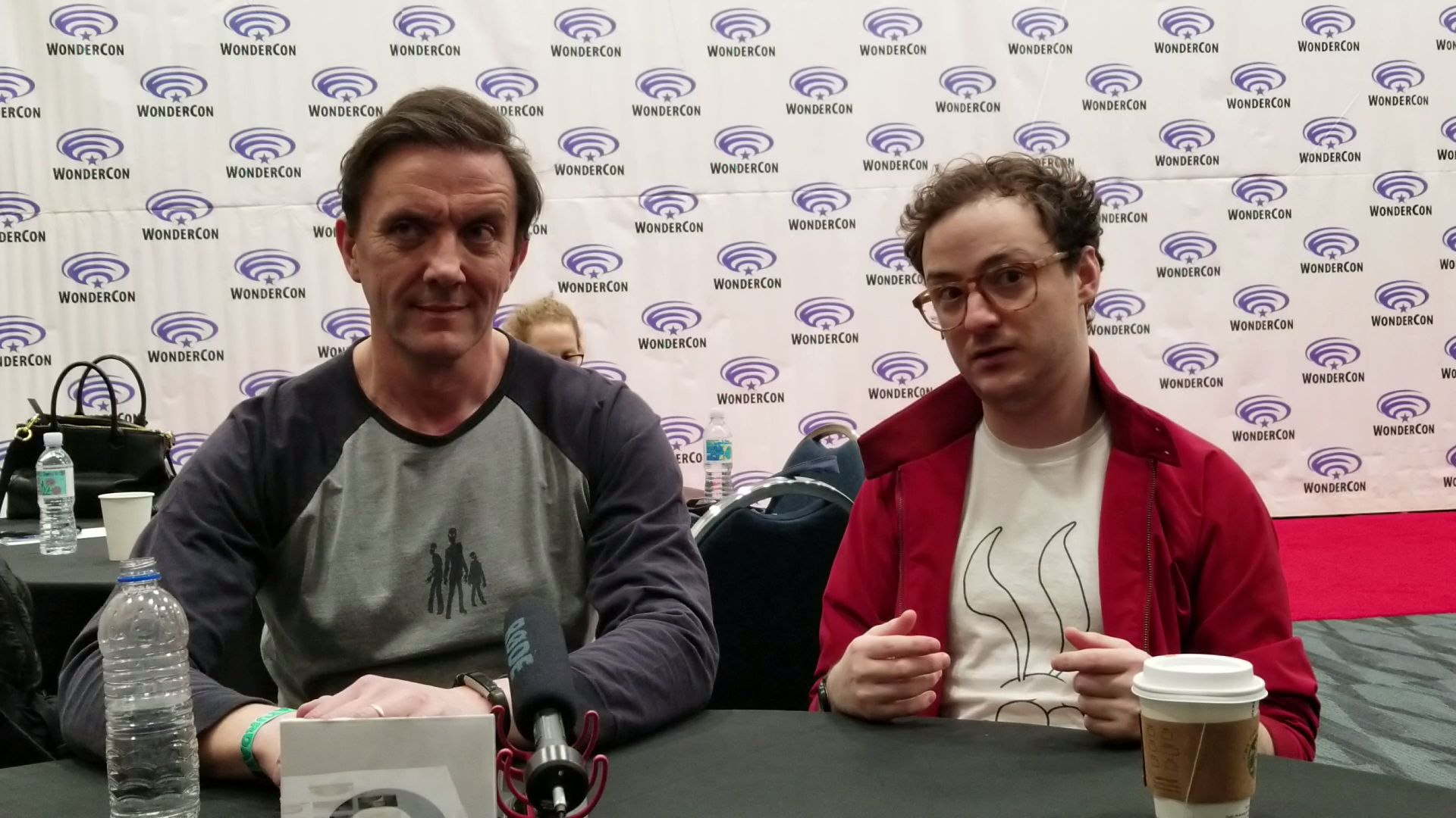 Ptere and Griff at Wonder Con 2019
