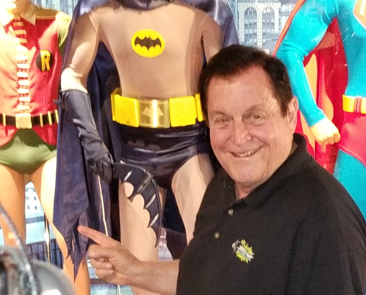 Burt Ward at The Hollywood Museum