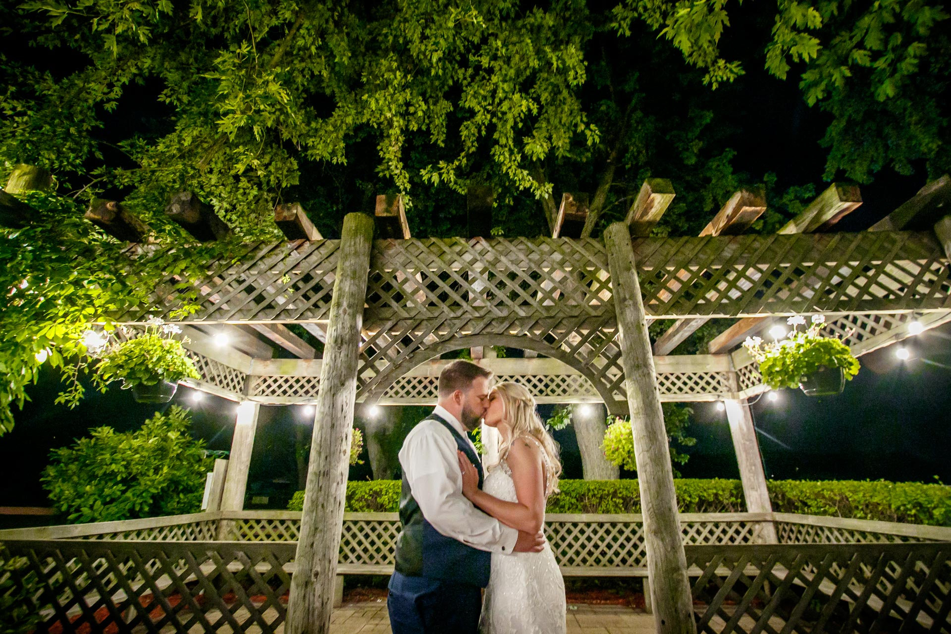 Rachel and John were married in high style at the   Aud Mar Banquet Hall   in Muskego, Wisconsin. These two enjoyed perfect weather on their wedding day and even got a ride on a pontoon boat after their ceremony. Photographs provided by   Adam Shea Photography  .