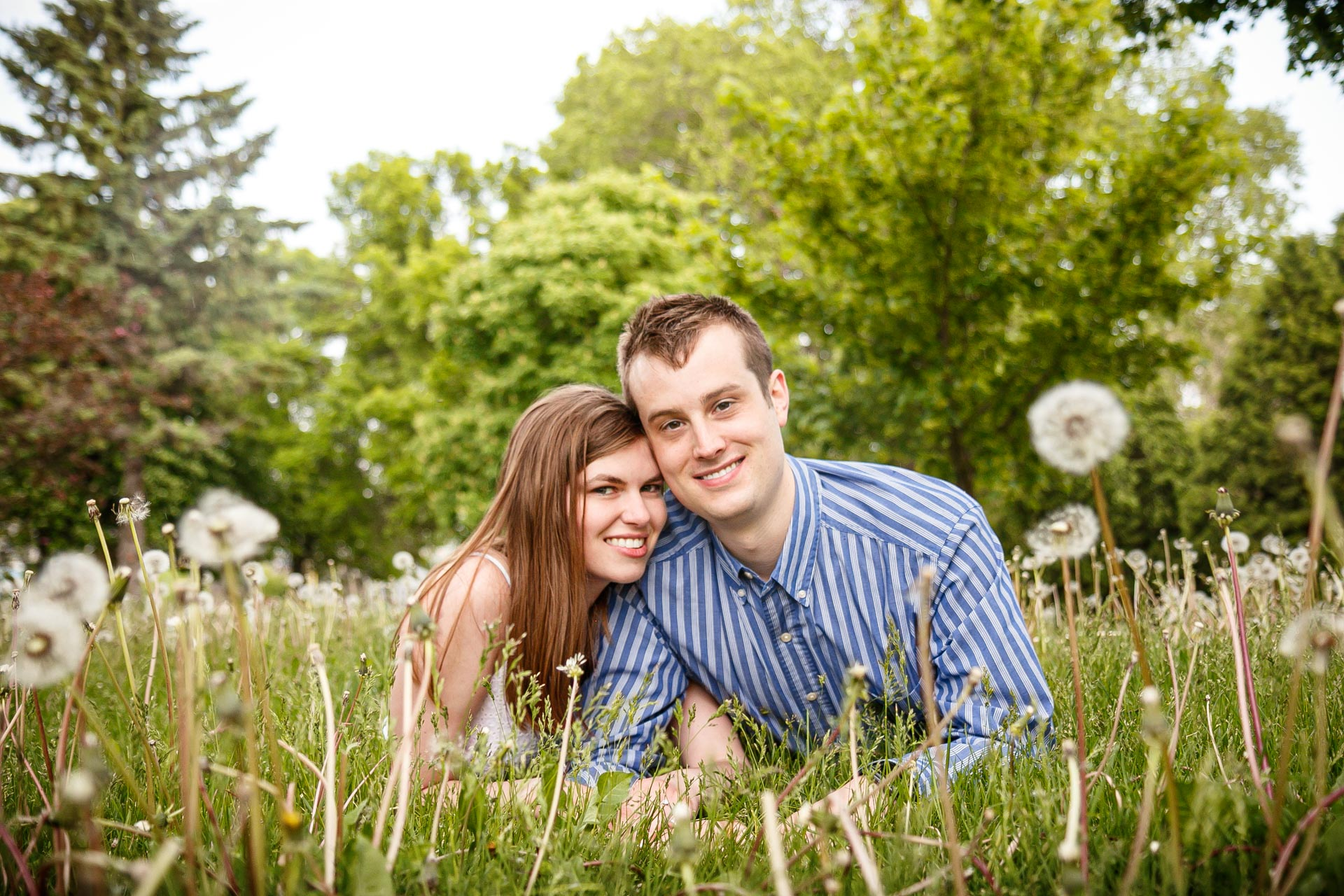 Nicole and Brandon accompanied me on a gorgeous evening at  Voyageur Park  in  De Pere, WI.