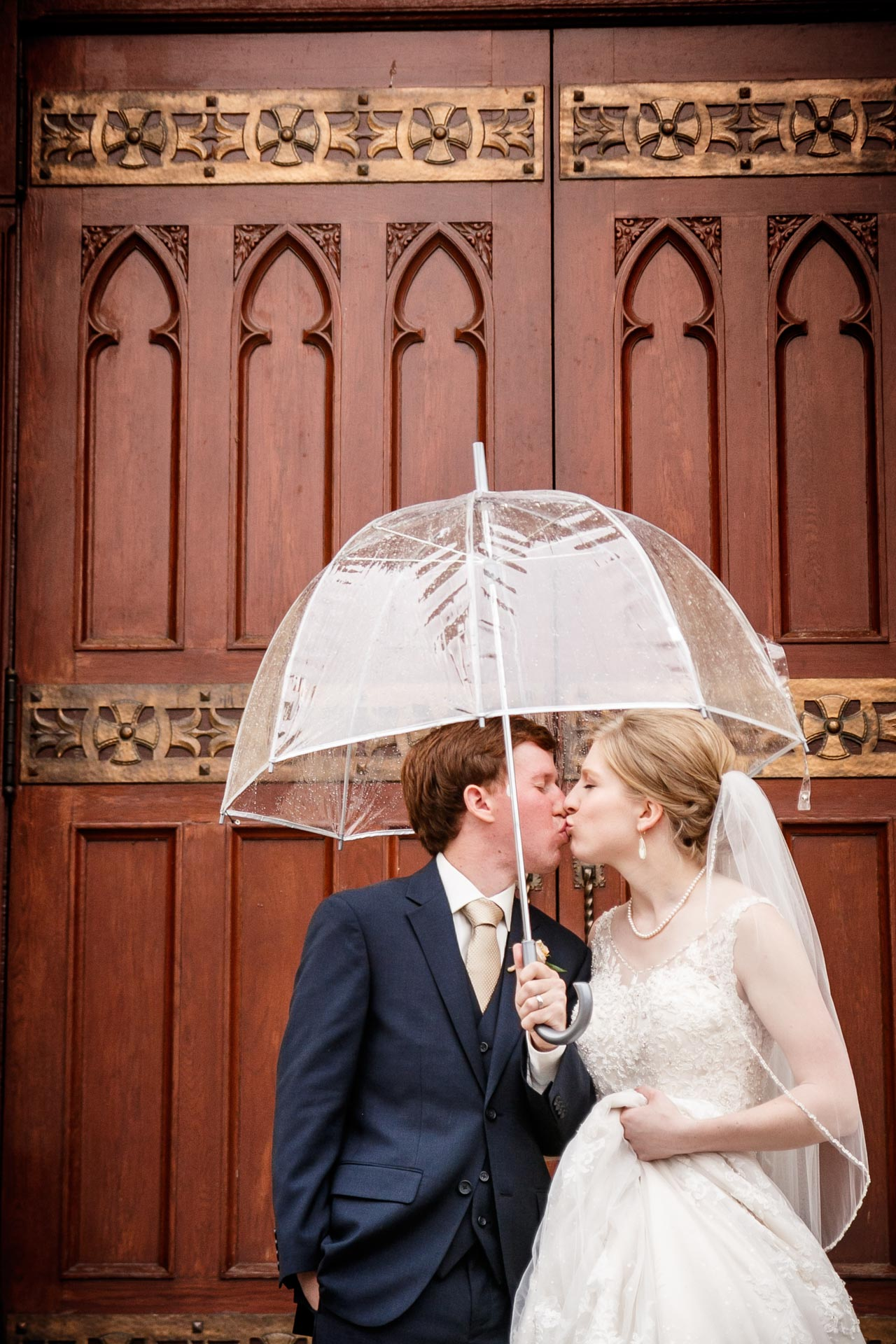 """No one can control the weather. But you can control your options. Don't fret if it looks like rain or snow; your """"Plan B"""" for indoor wedding photos may just work out better than you thought."""