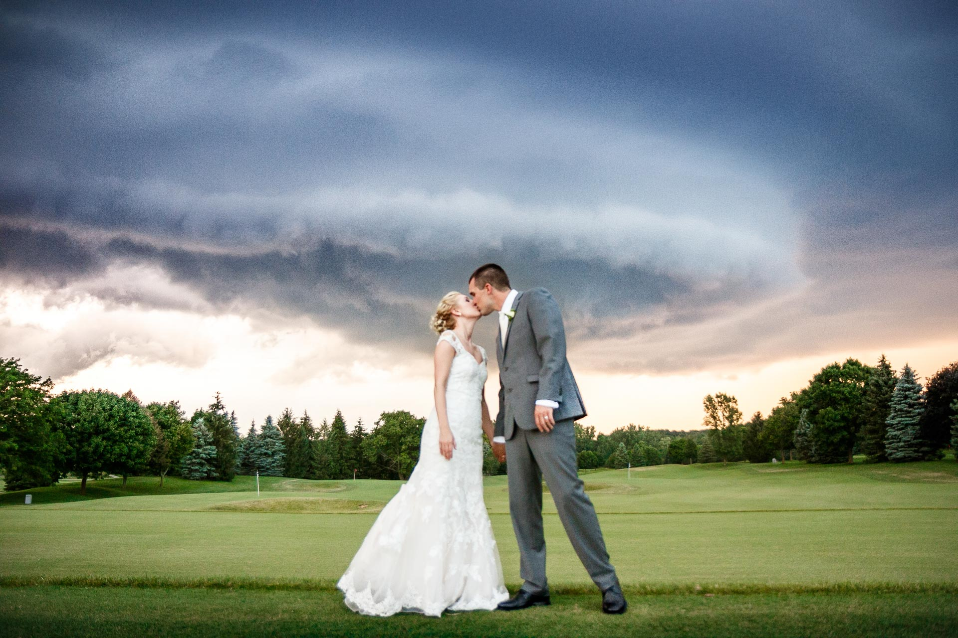 Bride and Groom | Thunderstorm