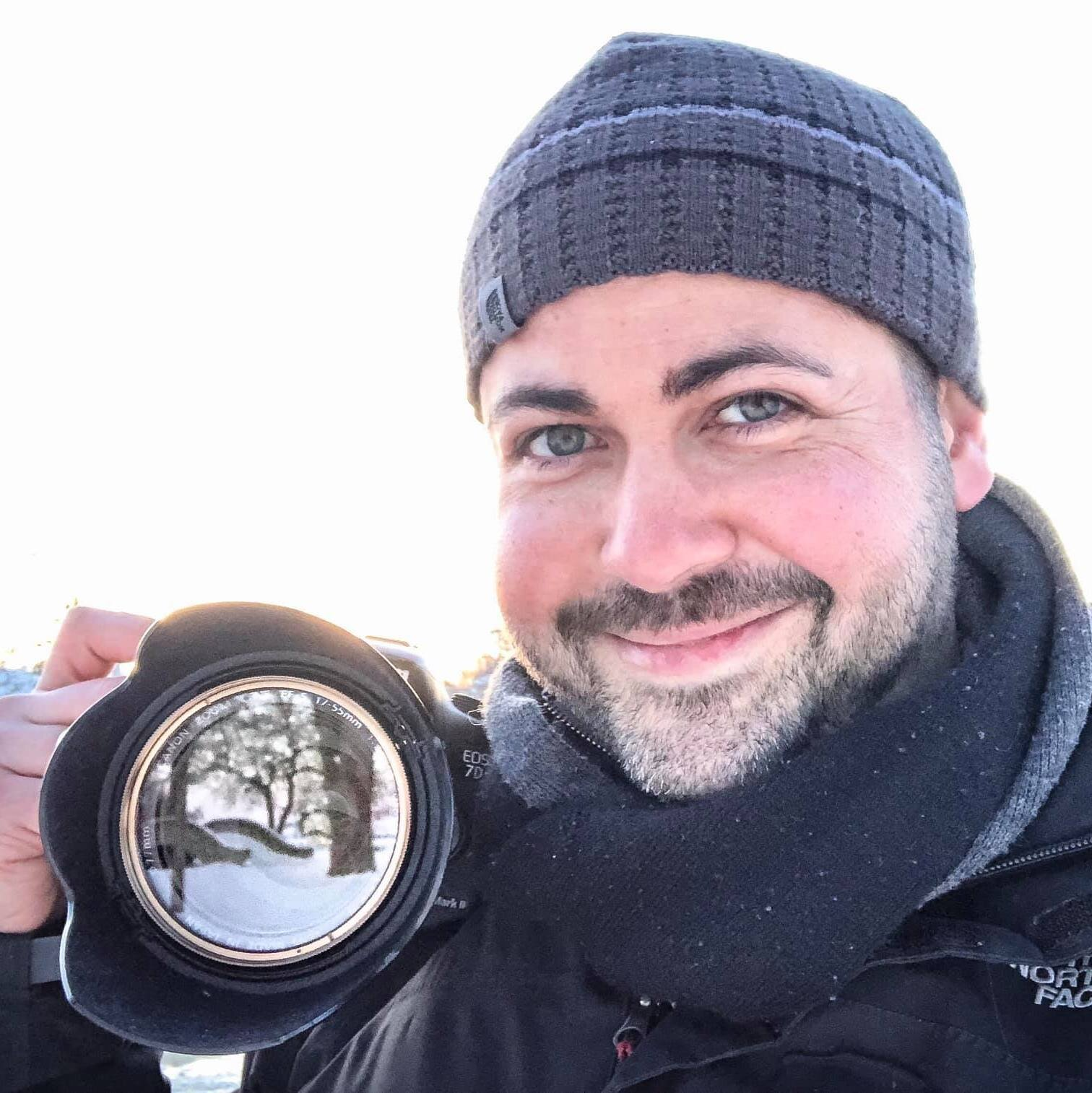 Adam On Photoshoot