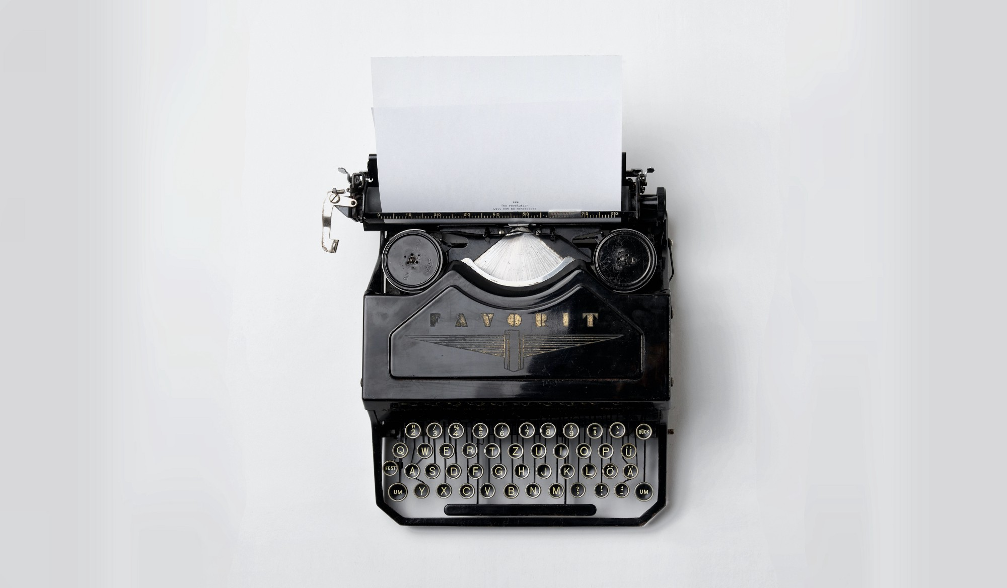 How to write like your life depends on it - There is nothing to writing. All you do is sit down at a typewriter and bleed.