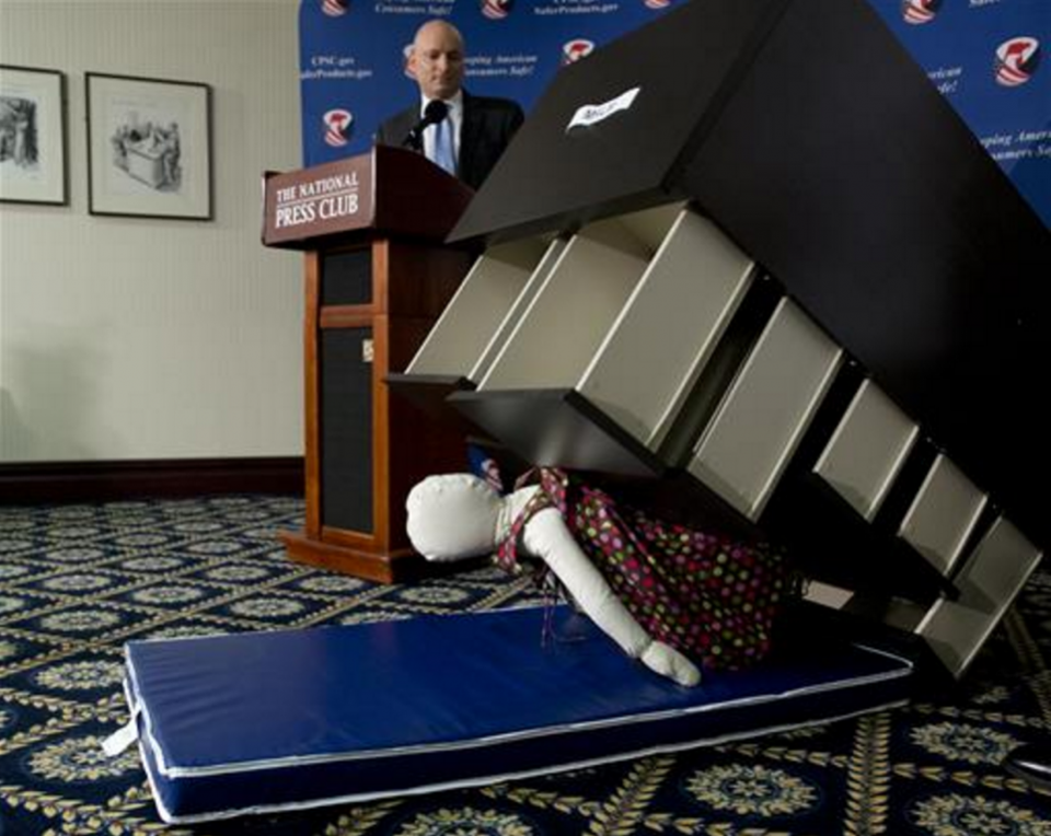 IKEA Recalls 29 Million Dressers And Chests After 6 Toddler Deaths - Published on Forbes.