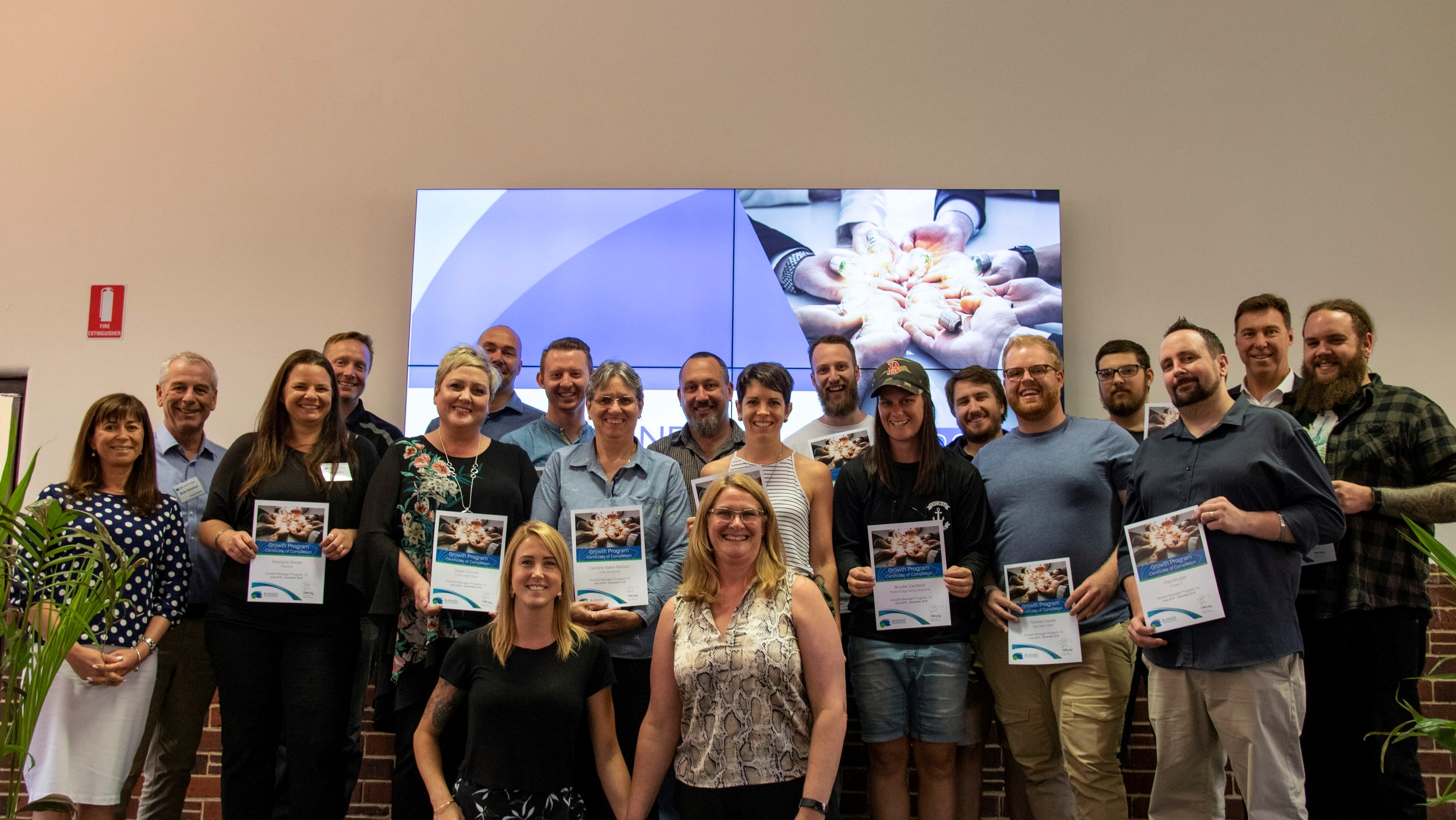 Growth Manager 14 Group - Review and Celebration Day!
