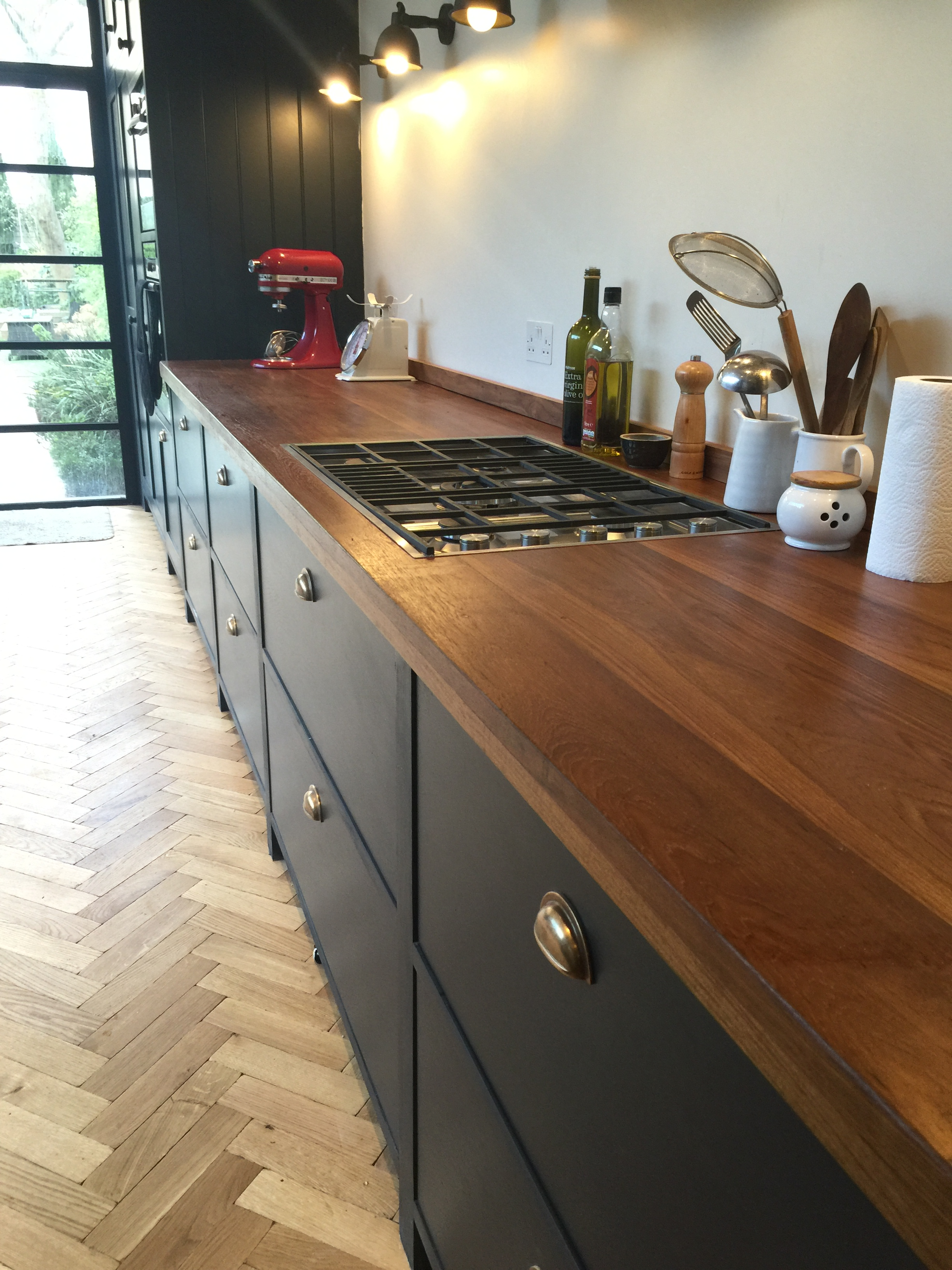 Reclaimed Teak Worktops