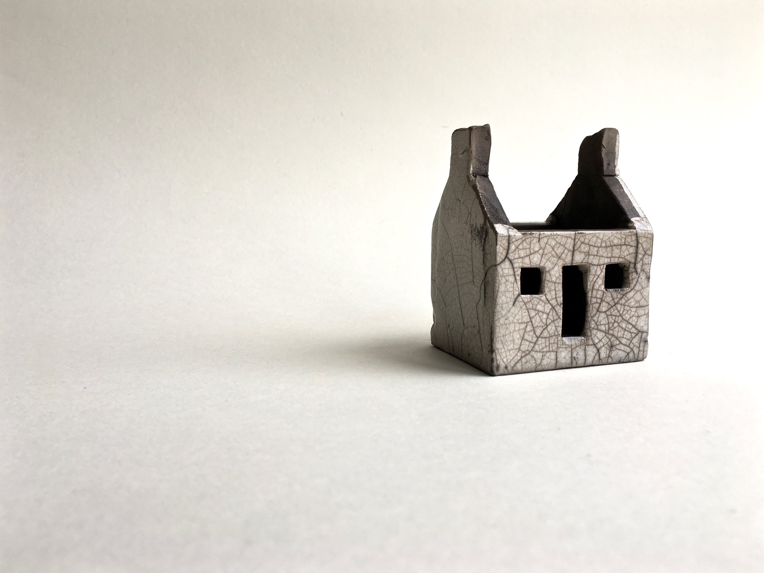 Roofless house, 8x6x5cm £45