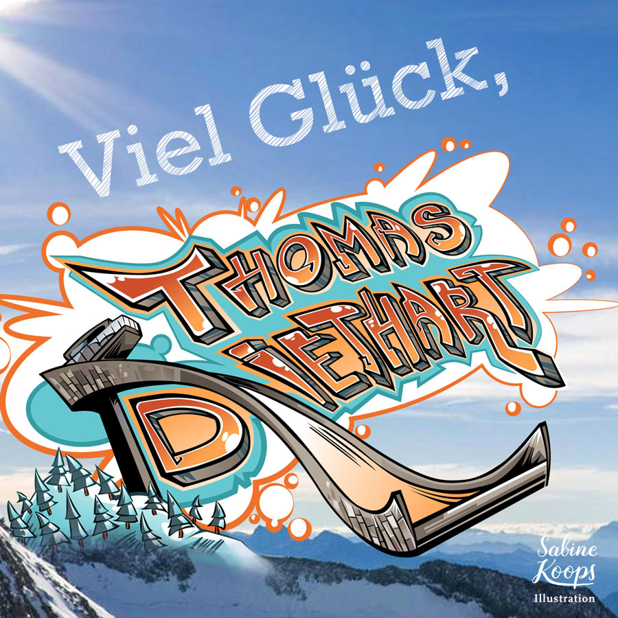 Sabine_Koops_Illustration_Illustrator_Sport_Skispringen_Thomas_Diethart_Graffiti_Sponsoring_Physiotherm.jpg