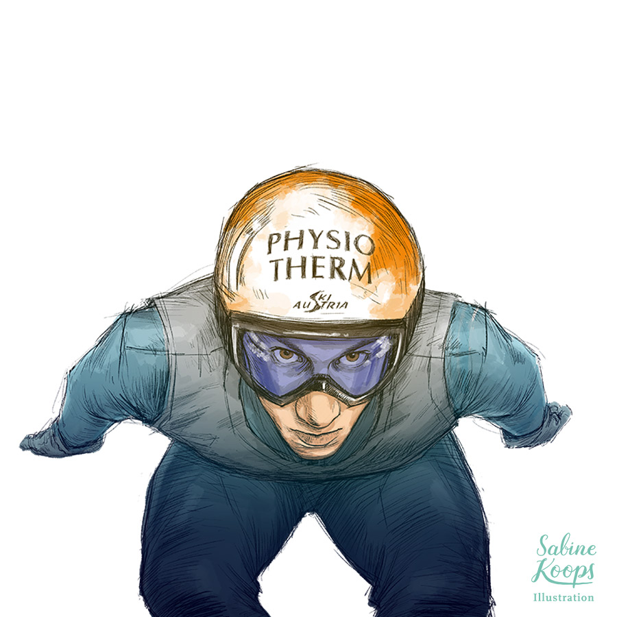 Sabine_Koops_Illustration_Illustrator_Sport_Skispringen_Thomas_Diethart_Portrait_Sponsoring_Physiotherm.jpg