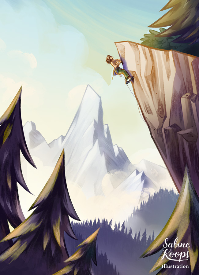 Sabine_Koops_Illustratorin_Landschaft_landscape_Berge_Mountains_Tirol_Klettern_Climbing.jpg