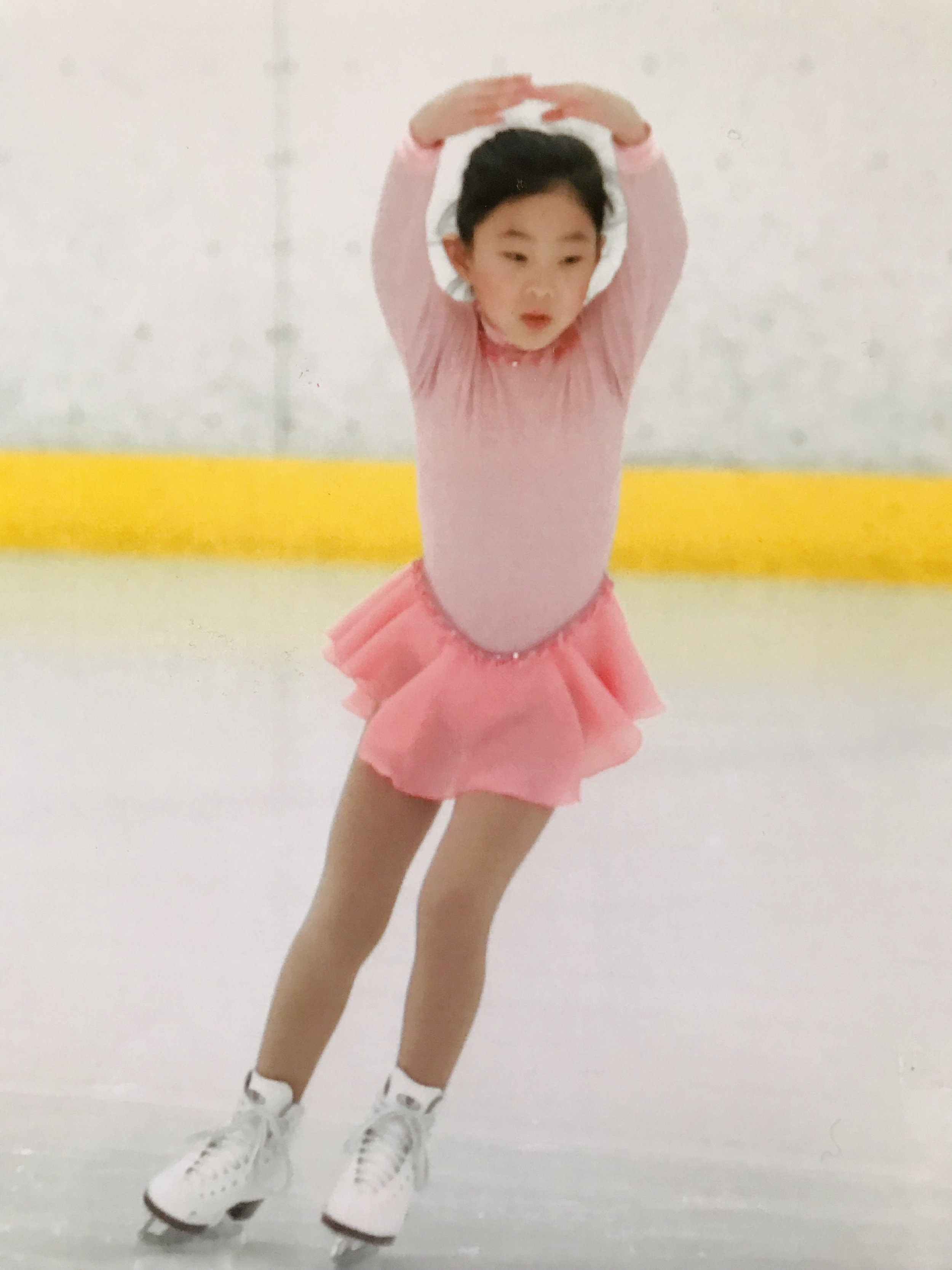 My first skating competition at 7 yrs old  (The Syncopated Clock by Leroy Anderson)