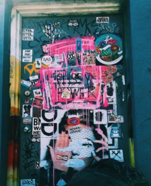 Feminist street art displayed in Brooklyn