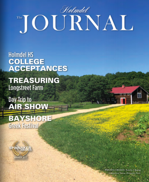 Holmdel Journal   July 2019 Cover Story: 'Exploring the Past in Pasture'  and '23 Girl Scouts Receive Gold Award'