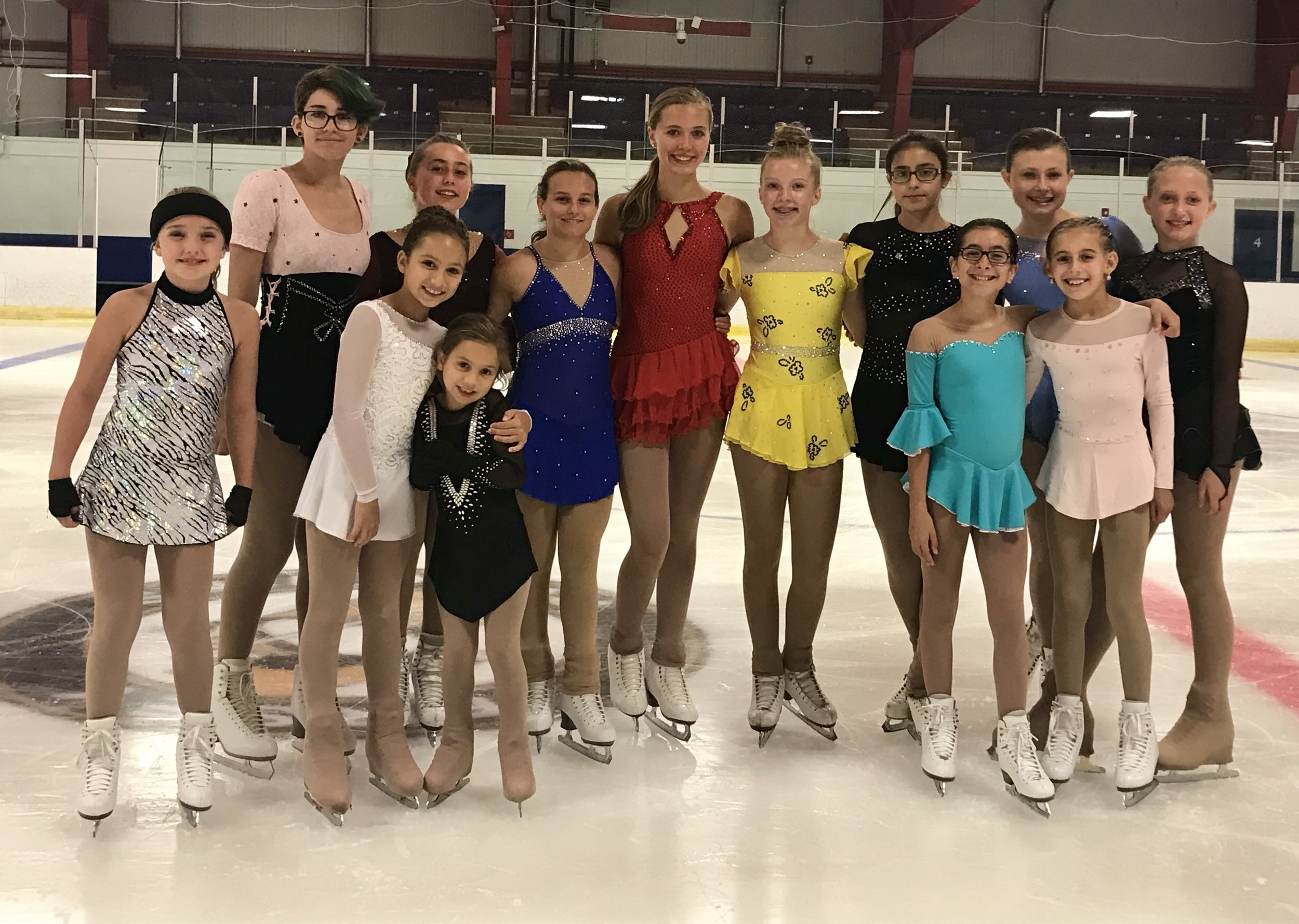 Congratulations - to my fellow skaters on a spectacular performance