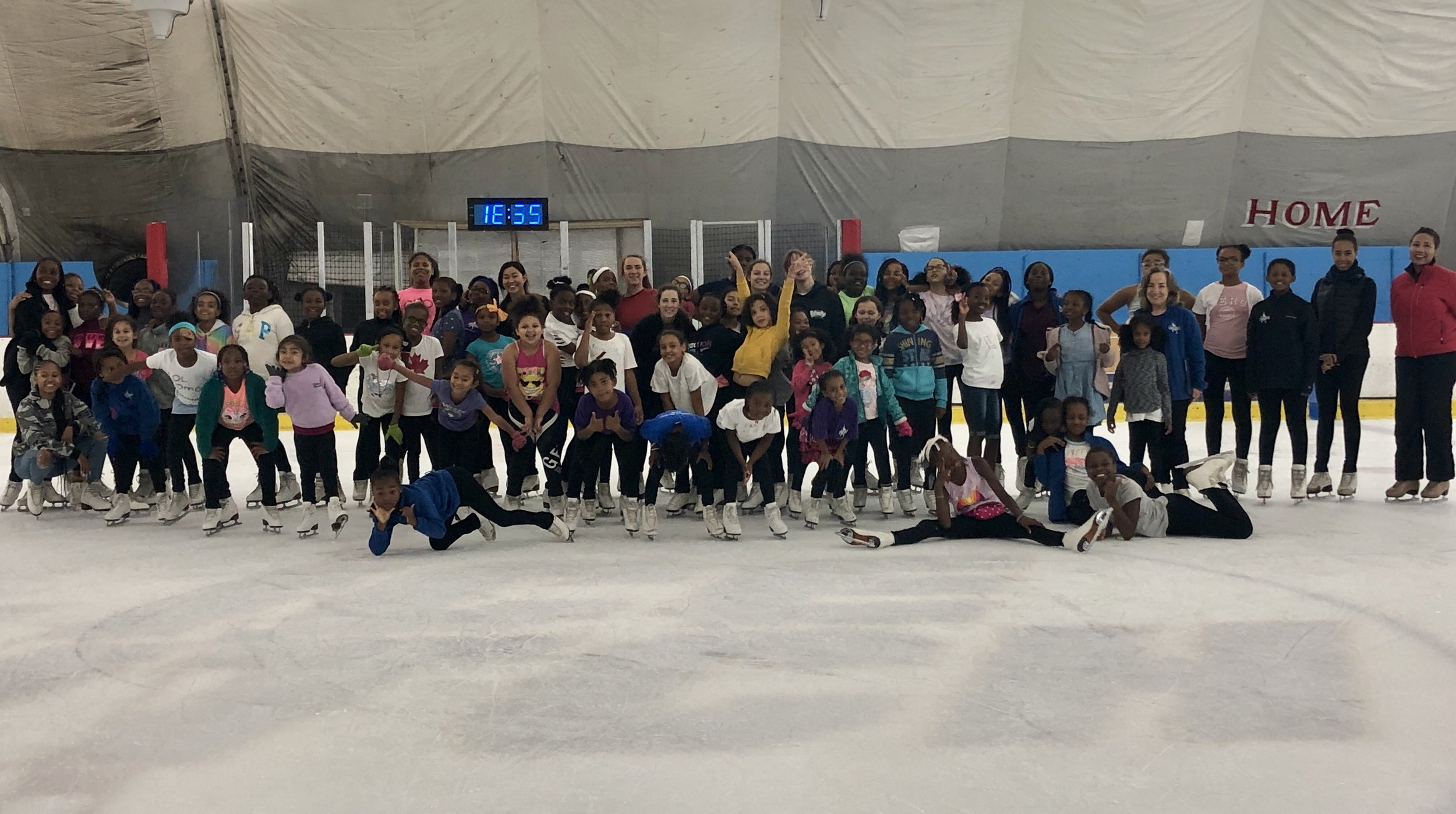 MY SUMMER DREAMS CAMP FAMILY  Figure Skating in Harlem