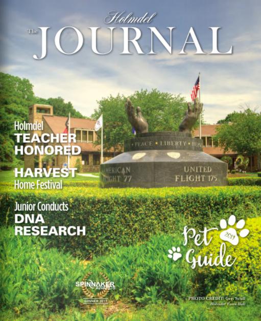 Holmdel Journal   September 2019 'Grown In Monmouth County Restaurant Week'