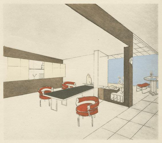 Dining room, 1927