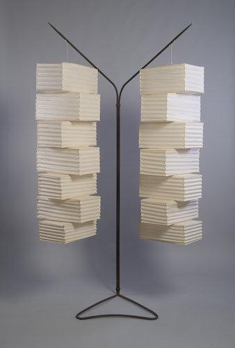 Isamu Noguchi Lighting, Rio Apartment J Martin, 1963