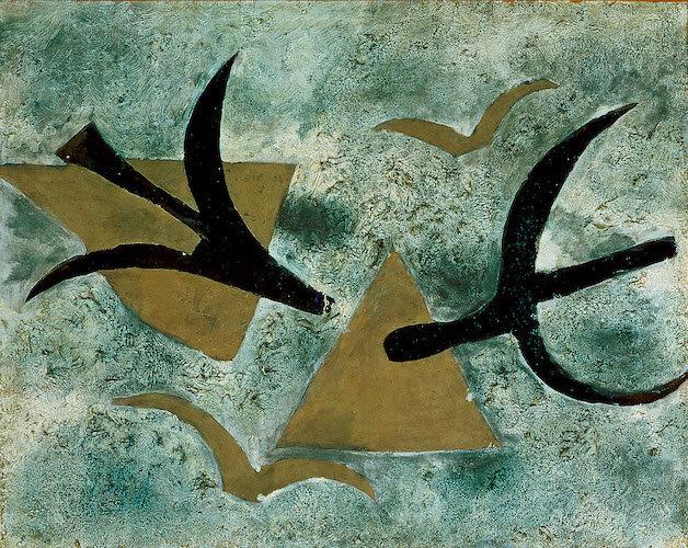 Les Oiseaux, Georges Braque, 1954