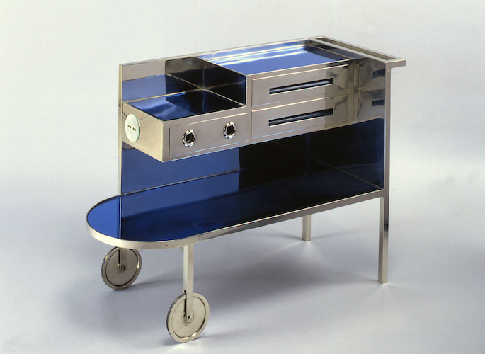Electrified mobile dressing table, Eckart Muthesius, ca 1930