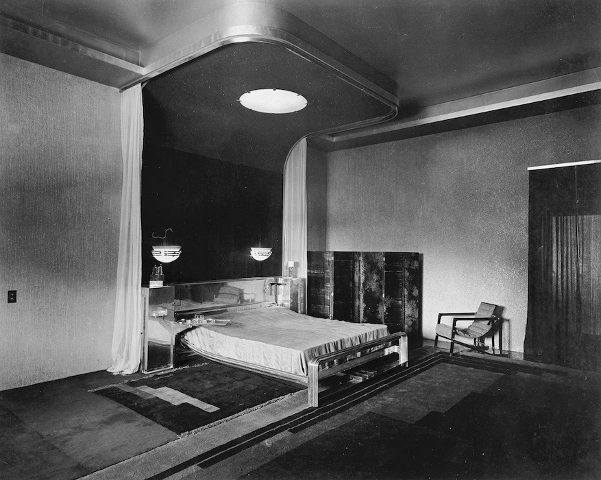Manik Bagh Palace, Maharaja Bedroom, Eckart Muthesius, ca 1933