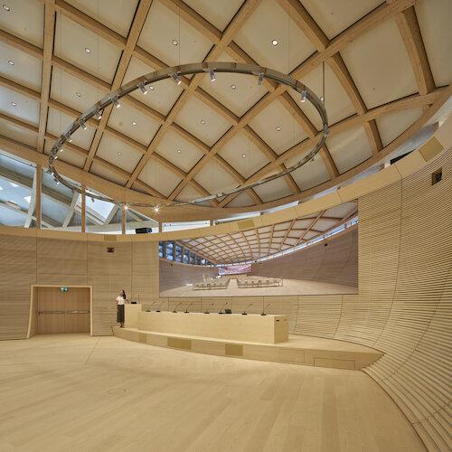 Nicolas G. Hayek Auditorium