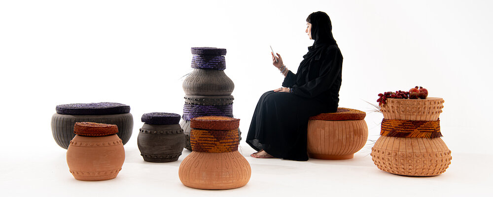 """Safeefah X Clay"" collection by Abdalla Al Mulla & Pepa Reverter"