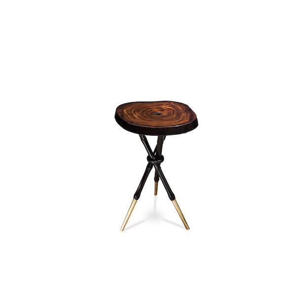 Bamboo Stiletto End Table