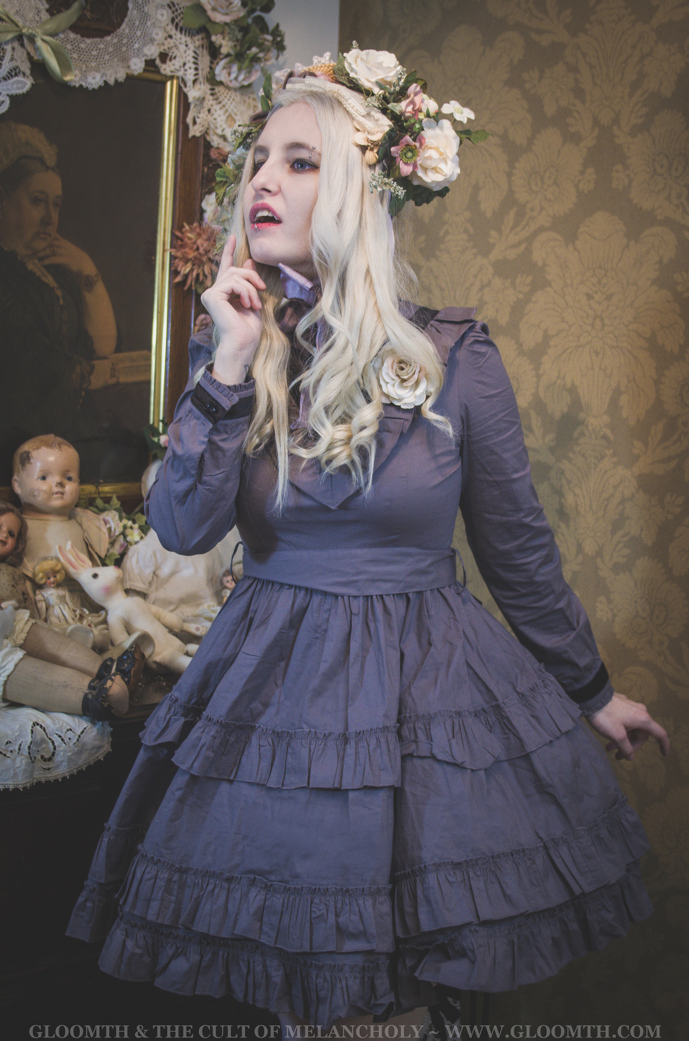 victorian lolita vampire outfit