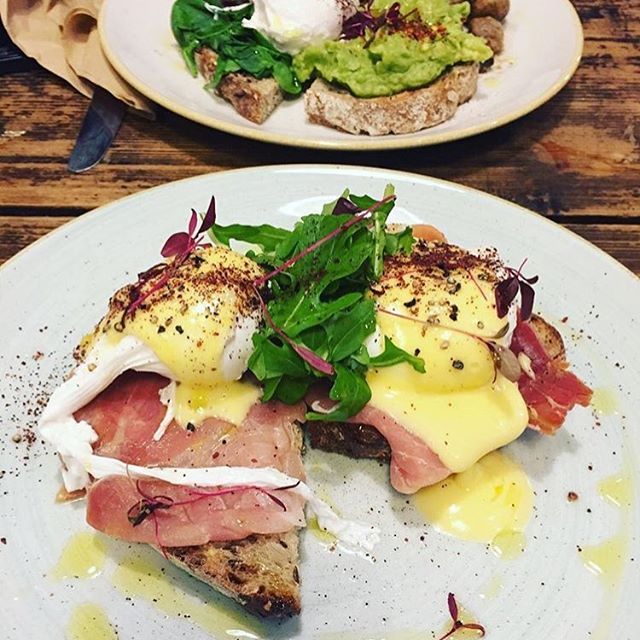 It's that time of the year- office parties! It's that time of the week - hangover cures needed!  Well our team have exactly what you need! #brunch #eggsbenedict #coffeeshop #cafe #freshfood #breakfast 📷 credit @foodymarie
