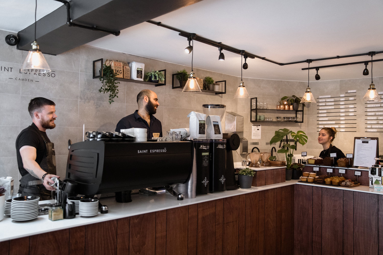Camden Saint Espresso Neighbourhood Cafés Coffee Roasters