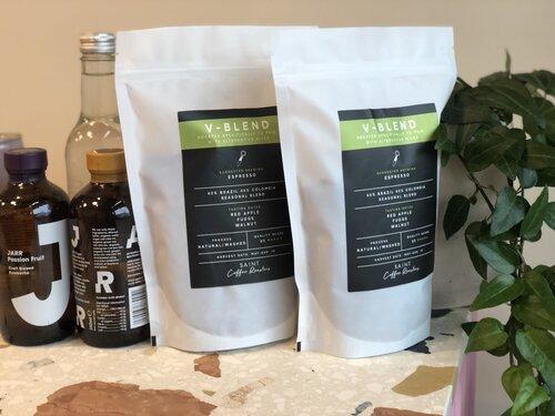 V-blend coffee