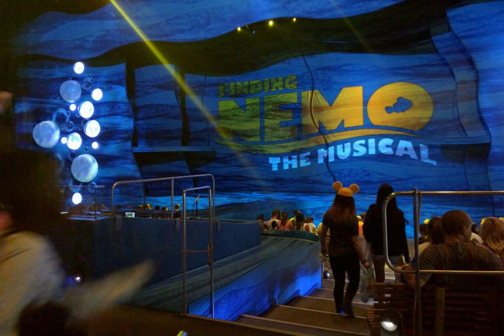 """Finding Nemo,"" now running at Disney's Animal Kingdom in Orlando."