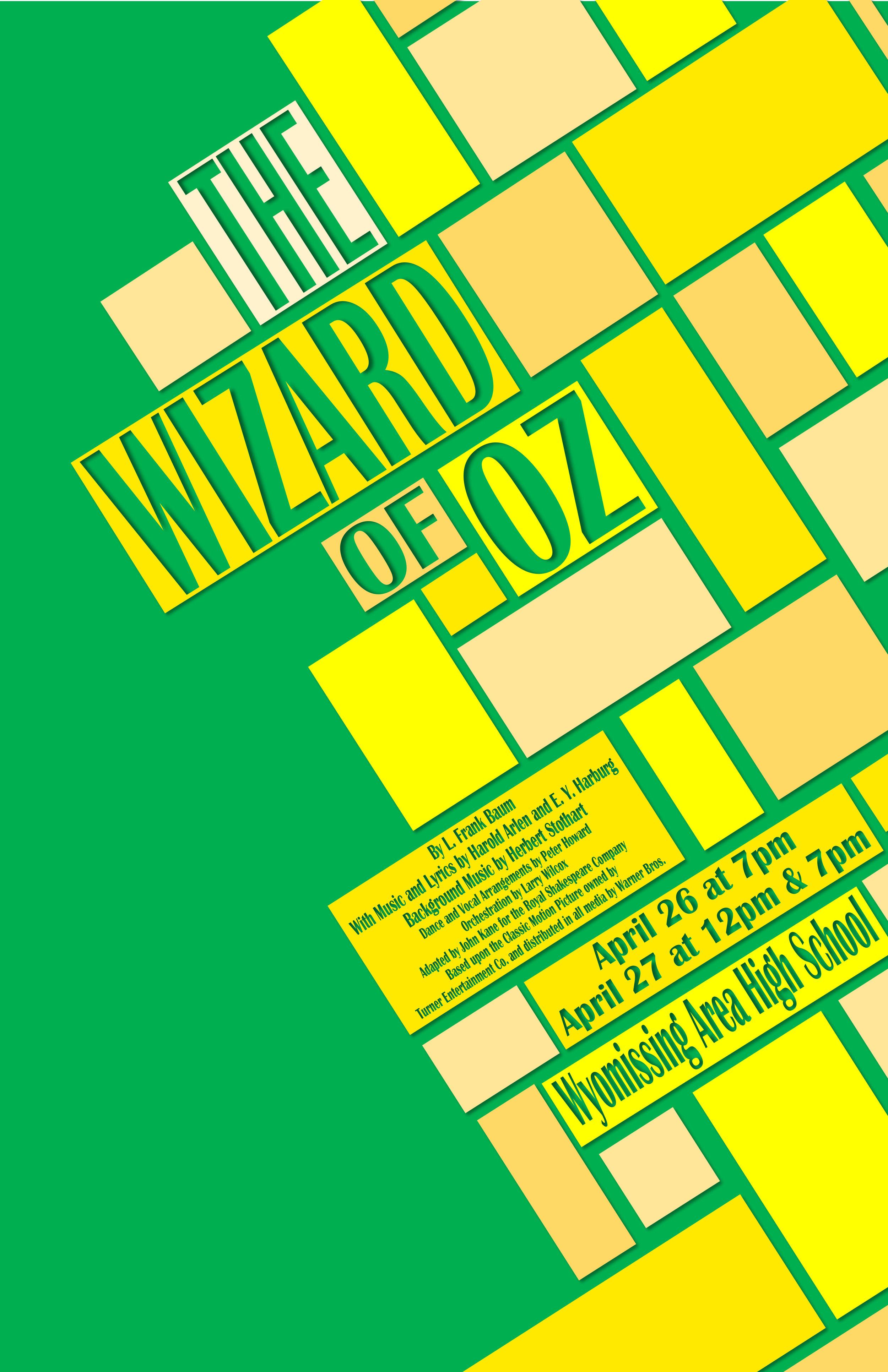 WyoDrama Wizard of Oz Poster