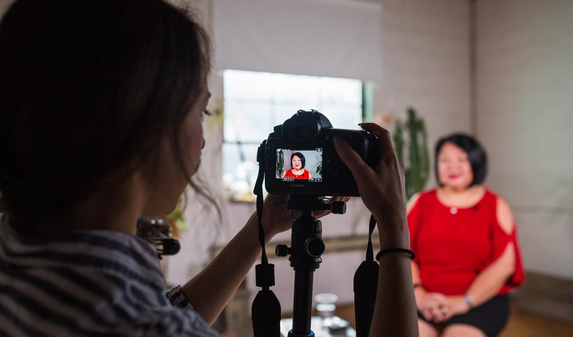 - Shifting mindsets through video storytelling