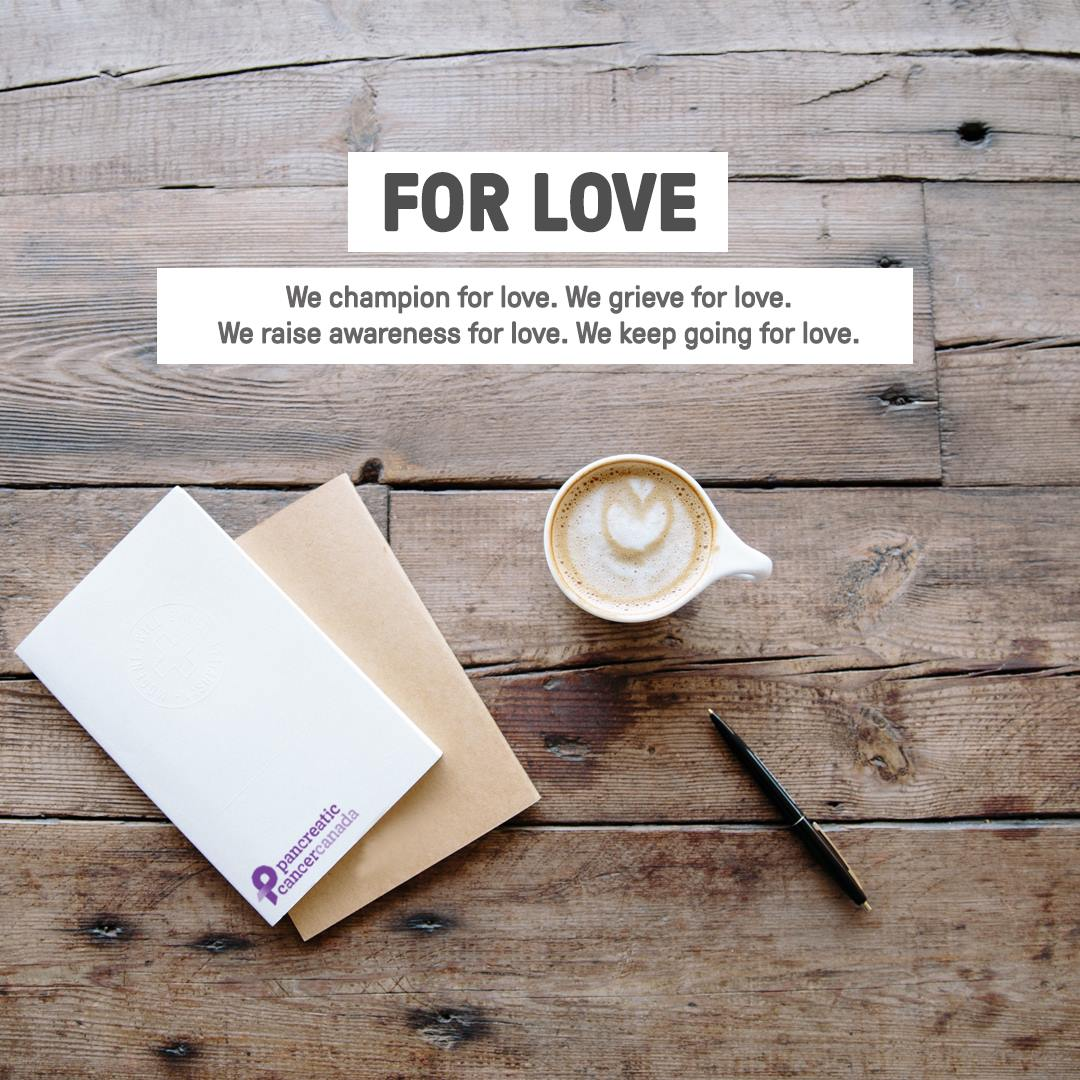 Graphic and copy for Letters for Love campaign