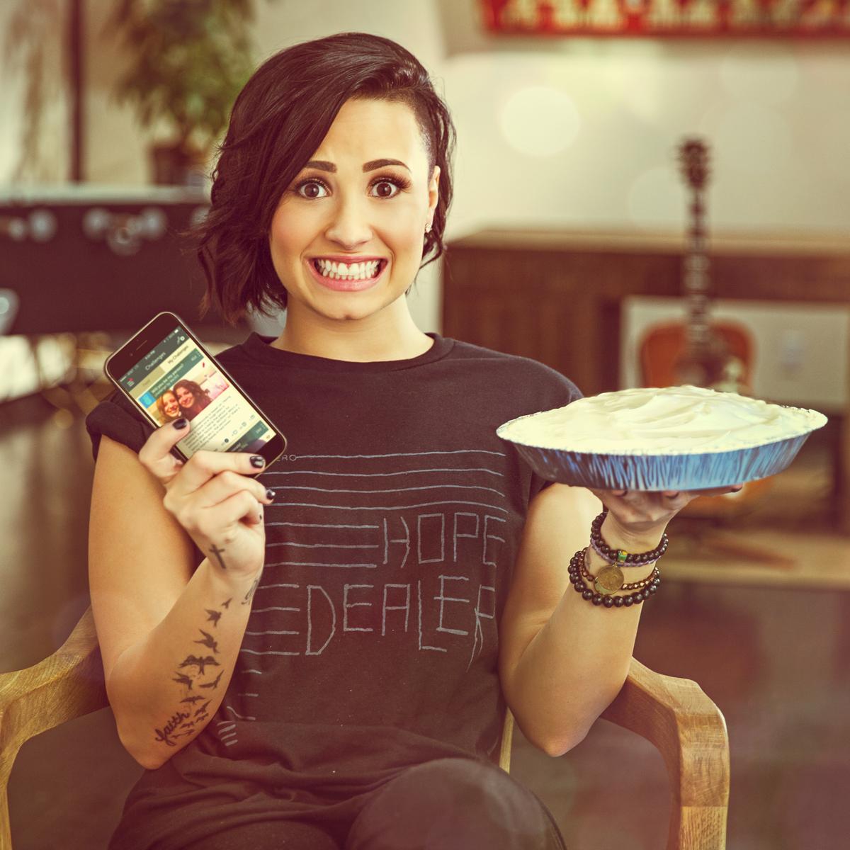 Demi Lovato in a WE365 Global Ad Campaign