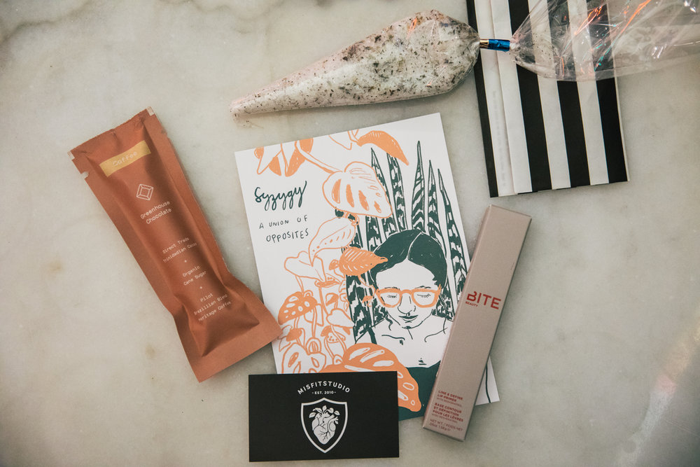 Partner product featured at our Self-care Supper