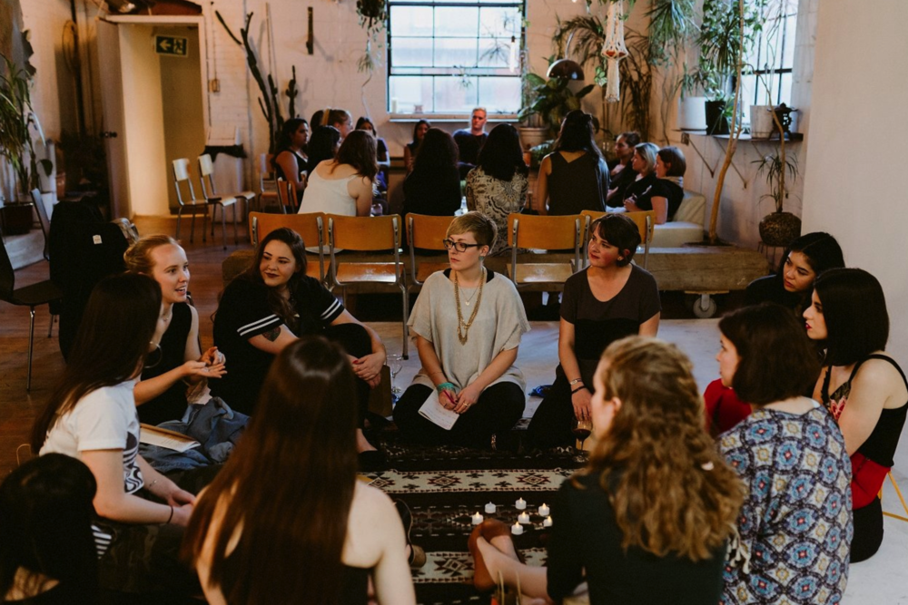 A wellness conversation at our inaugural gathering