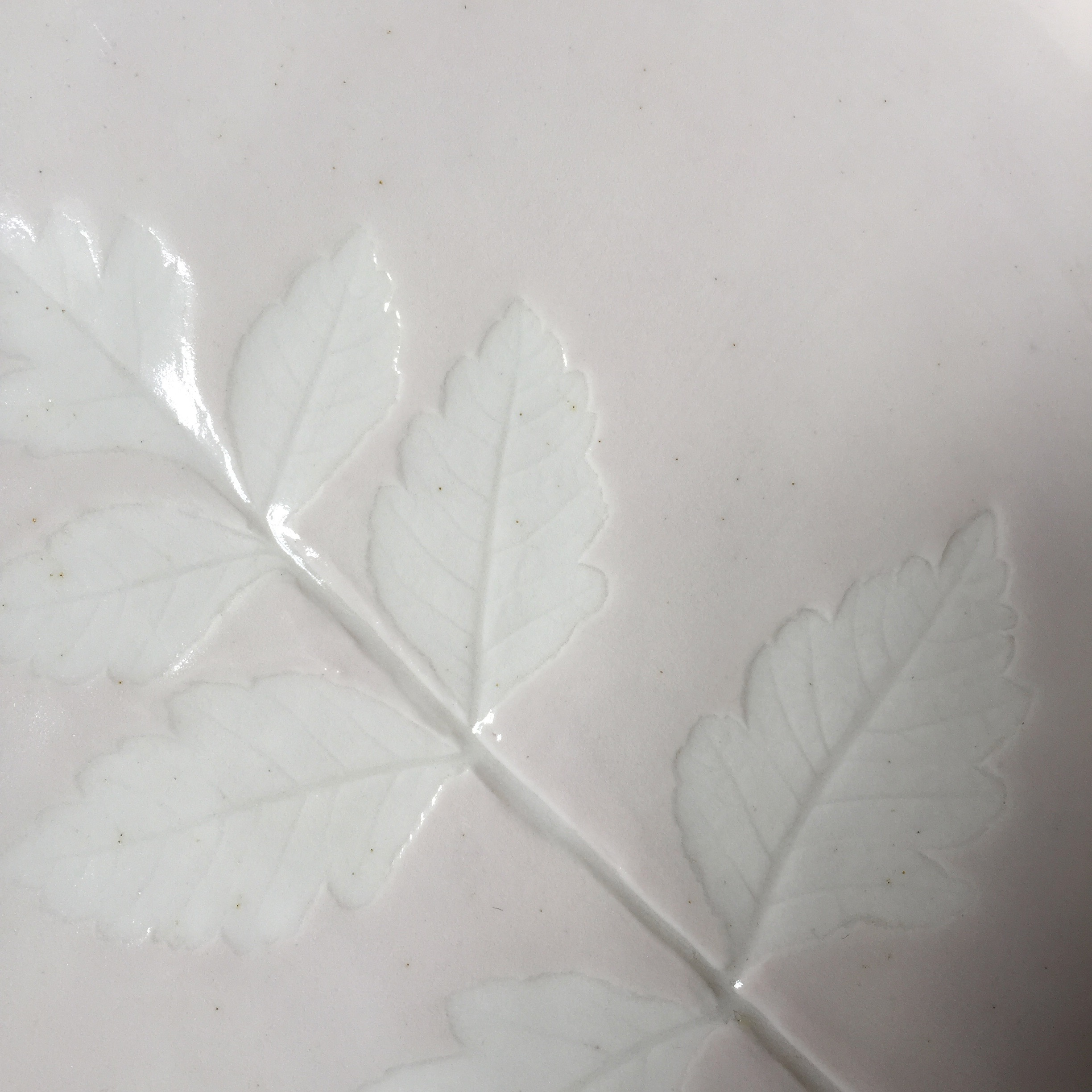 Leaf Dish Detail