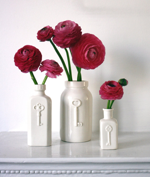 Key Bottle Vases