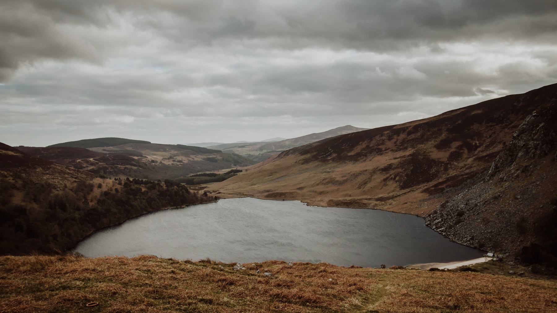Lough Tay (Guinness Lake), Co. Wicklow